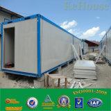 フラットパックの容器の家の鉄骨構造のPrefabaricatedの容器の家