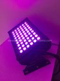 DMX512 im Freien LED Wand-Unterlegscheibe-Licht der Stadt-Farben-54PCS 3in1 RGB LED