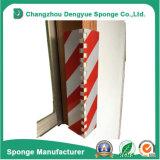 Gomma piuma impermeabile della protezione del garage esterno Rosso-Bianco della protezione d'angolo