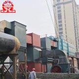 Caldeiras de vapor despedidas biomassa de viagem horizontais da grelha do Dobro-Cilindro do SZL do equipamento