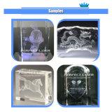 Vidrio cristalino vendedor caliente dentro de la máquina de grabado del laser cristalino 3D