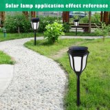 창조적인 태양 에너지 LED 육각형 프레임 램프 가정 정원 안뜰 잔디밭 훈장을%s 옥외 방수 조경 빛