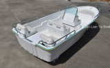 barco barato do barco branco do barco de pesca da fibra de vidro do barco de pesca de 5m