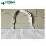 Plain White coton naturel Tote Canevas de lourds sacs fourre-tout pour le shopping