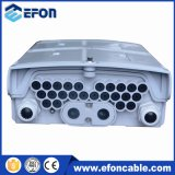 16 rectángulo terminal óptico de fibra del divisor FTTH del PLC del divisor 1*8 de las memorias 1*4 mini