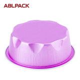 다채로운 컵케이크 알루미늄 호일 상한 디저트 굽기 상자