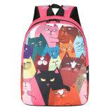 Grande Capacidade Escolar dos Alunos de Nylon Impermeável Saco mochila de desenhos animados