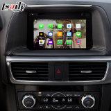차 Mazda Cx 5 의 향상 접촉 항법, WiFi, Bt, Mirrorlink, HD 1080P 의 Google 지도, 실행 상점을%s 인조 인간 GPS 항법 공용영역