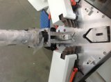 Machine sertissante de porte de guichet en aluminium