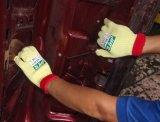 Résistant aux coupures anti déchirer l'aramide tricoté gant de travail de la sécurité (CE) Niveau de coupe 5