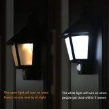 LED-Solarwand-Lampen-im Freienbewegungs-Fühler-Licht-Sicherheits-Nachtbeleuchtung für Tür-Plattform