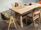 Mesa de jantar em madeira maciça Sala Escura (M-X2413)