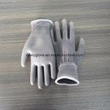 Gants gris de travail enduits par unité centrale de l'approvisionnement En420 d'usine