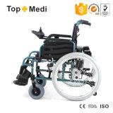طويل [ليفسبن] [هيغقوليتي] [28كغ] كهربائيّة يطوي قوة كرسيّ ذو عجلات مع [ليثيوم بتّري]