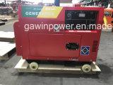 Gruppo elettrogeno diesel raffreddato aria mobile facile