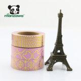 De douane maakt tot de Gouden Patronen van de Muis van Micky van de Diamant van de Folie Roze Kleur Washi Kleverige Band