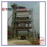 estación de mezcla de procesamiento por lotes por lotes del asfalto del mezclador 1500kg