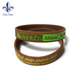 Förderung-Preis-kundenspezifischer Qualitäts-Silikon-Armband-GummiWristband