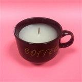 Popualrのカスタム党香料入りのコップのコーヒー蝋燭