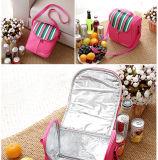 Femmes thermiques isolées portatives Cl1518 d'homme de sac de bouteille de sac de thermos d'isolation de pique-nique de Bolsa de nourriture de déjeuner de réchauffeur de refroidisseur de glace de mode