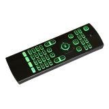 Mx3多彩なバックライトを当てられたキーボードおよびマウス空気マウス無線電信
