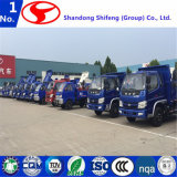 경트럭 판매 또는 쓰레기꾼 트럭 차원 쓰레기꾼 트럭 차원 또는 덤프 트럭 Shacman 또는 도로 스위퍼 트럭 또는 디젤 엔진 트럭을%s 작은 덤프 트럭 화물 트럭