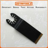 longo extra Titanium bimetálico de 32.5mm (1-1/4 '') Rápido-Coube a lâmina universal de Multitool
