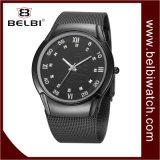 Belbiビジネス船のダイヤルデザイン水晶動きの人の腕時計