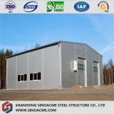 軽く移動可能な鉄骨構造の倉庫