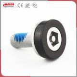 Möbel-Befestigungsteil-Stift-runde Hauptkohlenstoffstahl-Messingschraube