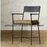 미국 사람은 먹는다 주석 창조적인 의자 의자 금속 다방 의자의 의자, 고대 방법, 다락 발판 (M-X3372)를 복구하는 단철 기업 바람을