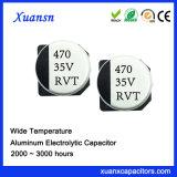Condensador electrolítico estándar al por mayor de 470UF 35V SMD