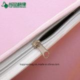Saco de Tote feito sob encomenda não tecido barato relativo à promoção do almoço do logotipo do saco mais fresco da cor-de-rosa