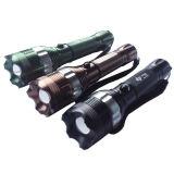 Q Cree XR-E5 Zoom de la policía linterna LED (POPPAS- T823)