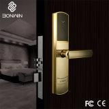 ハンドルが付いている防水鋼鉄か黄銅の物質的な電子ドアロック