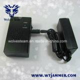 Portable Wifi haute puissance et de téléphone cellulaire jammer avec ventilateur (CDMA GSM DCS PCS 3G)