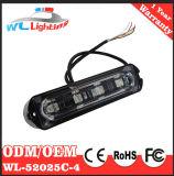 4W LED seitliche Richtungs-Anzeiger-Markierungs-Lampen für LKW-Schlussteil