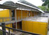 Recipiente de prefabricados House 20FT Rápido instalar o contentor House