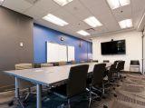 Sala de reuniones de 80 pulgadas de montaje en pared de pantalla