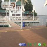 Populaire Openlucht Vuurvaste Rekupereerbare Samengestelde WPC Decking voor Zwembad