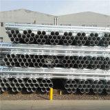 Metro utiliza Extremo plano BS1387 tubo galvanizado de Clase B