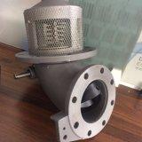 Manual de camiones tanque de aceite de aluminio de la válvula inferior de la válvula de emergencia de la válvula de pie