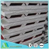 Cubrir el panel de pared compuesto de acero de emparedado del color ligero de la espuma