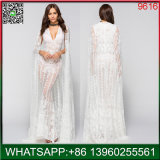 女性のための中国の工場卸売の方法白いレースのセクシーな服
