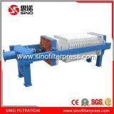 500 PP hidráulico de la Cámara de rebajado de prensa de filtro para los productos químicos