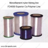 Venda por grosso de várias cores diferentes diâmetros High Tech T040 monofilamento de nylon linha de pesca 08C-T040
