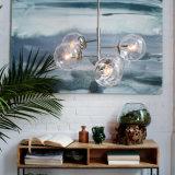 &simg en verre de Suspensed de chevet moderne de poste de mode ; L'éclairage de lampe pendante de Handelier, s'est également ajusté pour la salle de séjour