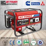 6kwガソリン発電機セット携帯用電気LPGの発電機
