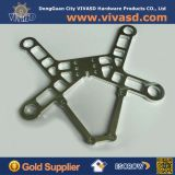 Douane CNC die de Delen van het Aluminium van de Adapter machinaal bewerken