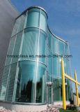 Buidlingガラス8mmは緩和されたガラスRongshunxiangを曲げた